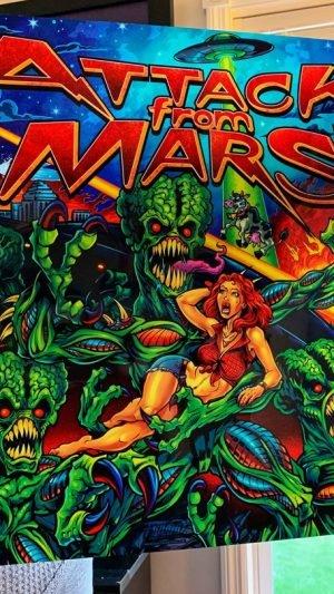 Alternatives lizenziertes Translite für – Attack from Mars (Brian Allen)