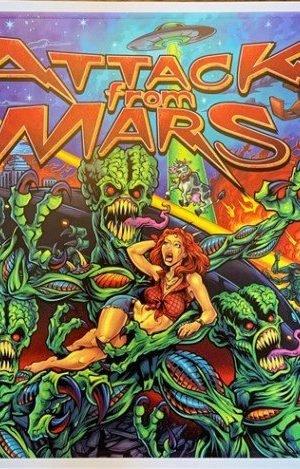 Alternatives Artwork – Attack From Mars 14″x20″ Poster