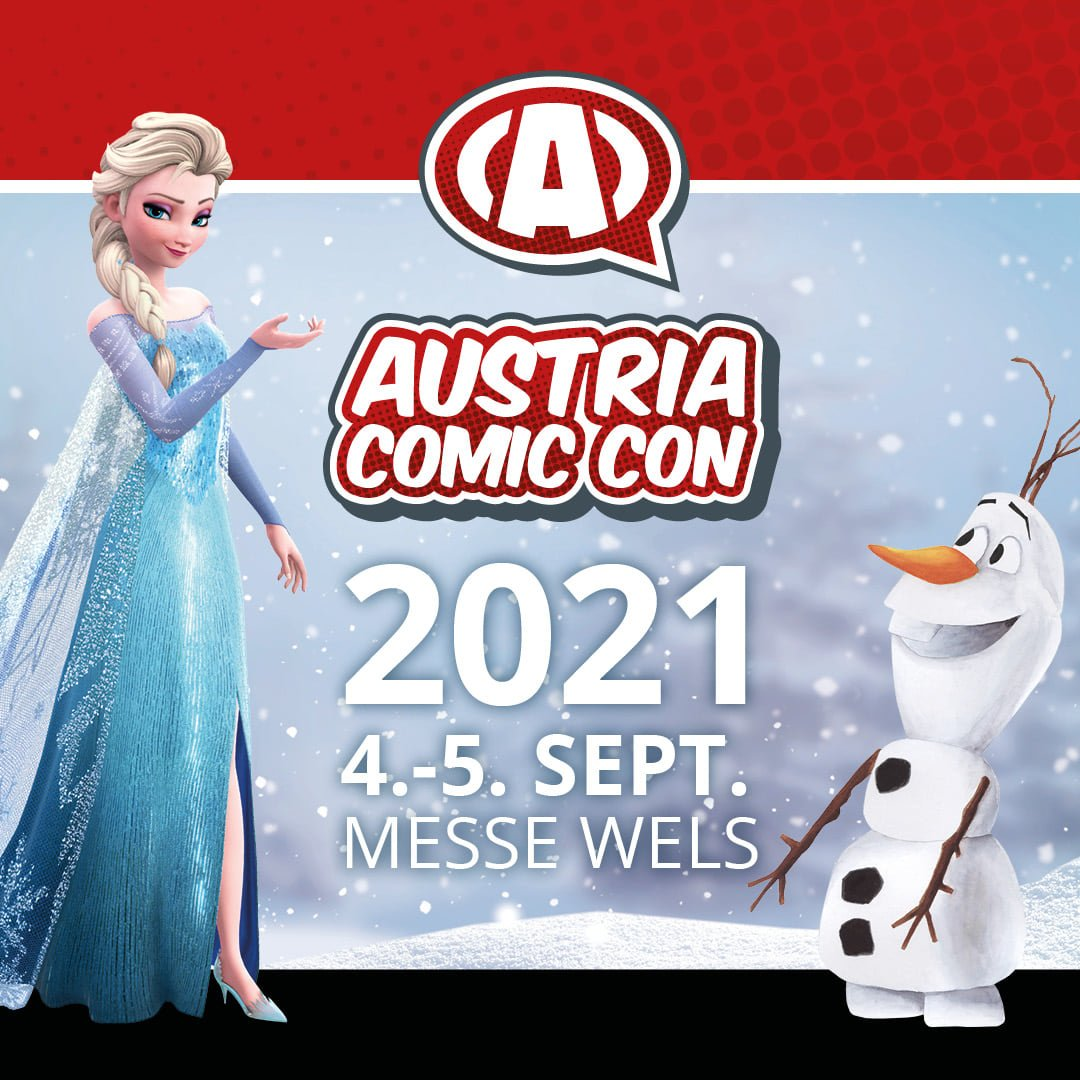 Austria Comic Con 2021 4/5.Sep 2021