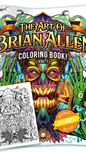 Brian Allen – Artbook (32 Seiten)