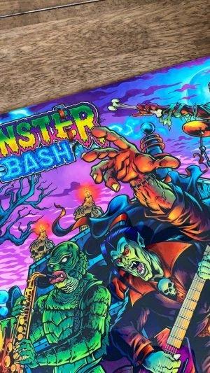 Alternatives lizenziertes Translite für – Monster Bash (Brian Allen)