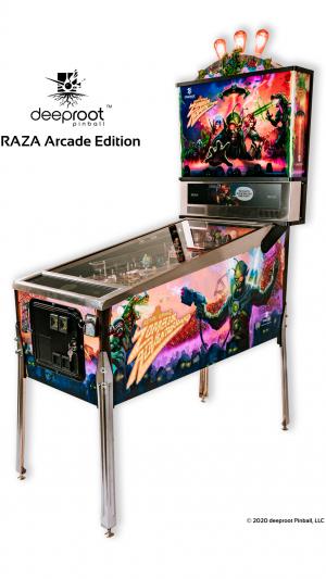 RAZA (Retro Atomic Zombie Adventure Land) Arcade Edition – Pre Order