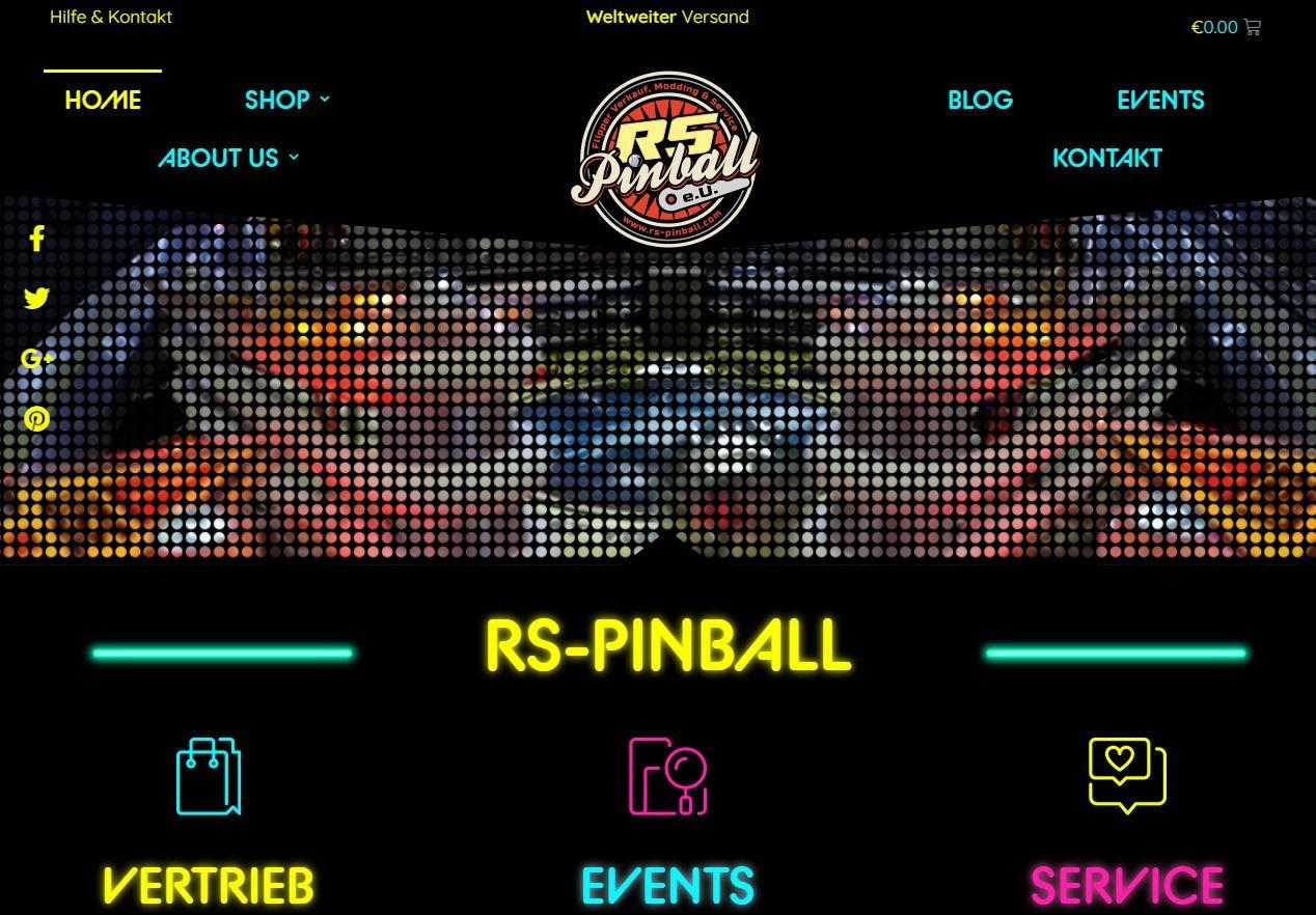 RS-Pinball bekommt einen neuen Look